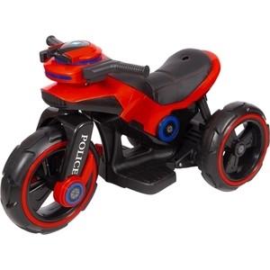 Детский мотоцикл на аккумуляторе Y QIKE Y-MAXI Police Red - SW198B-RED