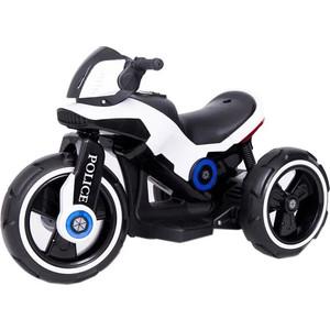 Детский мотоцикл на аккумуляторе Y QIKE Y-MAXI Police White - SW198A-WHITE