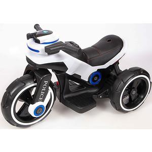Детский мотоцикл на аккумуляторе Y QIKE Y-MAXI Police White - SW198B-WHITE
