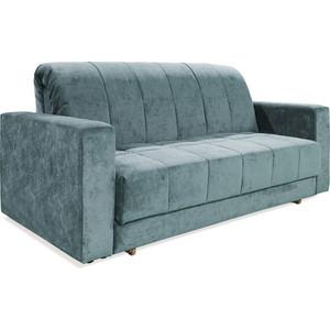 Прямой диван OrthoSleep Спринг 1.6 + Б№1 vital blue