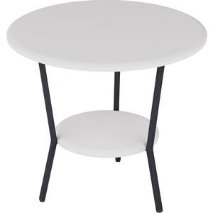 Стол журнальный Калифорния мебель ШОТ белый