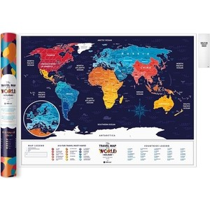 Карта 1DEA.me Travel map holiday world