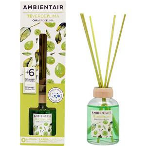 Диффузор ароматический Ambientair Зеленый чай и лайм 50 мл