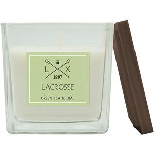 Свеча ароматическая в стекле Ambientair Зеленый чай & Лайм 8*8 см