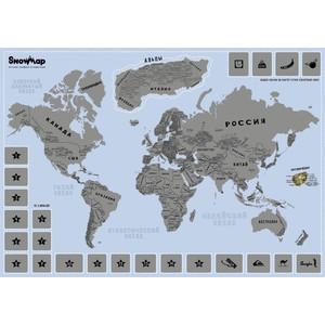 Карта со скретч слоем BadLab Snow map