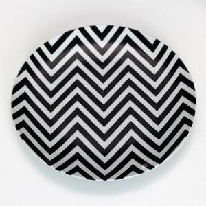 цена на Набор керамических тарелок 2 шт BadLab Zigzag (0066)