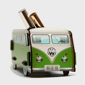 Настольный органайзер BadLab Vw t1 camper - зеленый