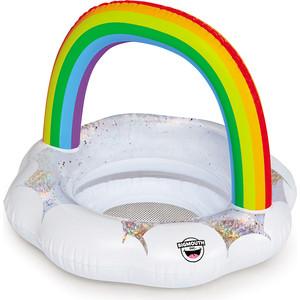 Круг надувной детский BigMouth Rainbow