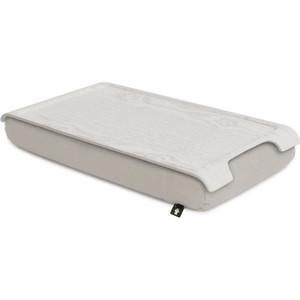 Подставка с деревянным подносом Bosign Laptray мини белая/кремовая