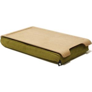 Подставка с деревянным подносом Bosign Laptray мини дерево - оливка