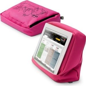 Подушка-подставка с карманом для планшета Bosign Hitech 2 розовая