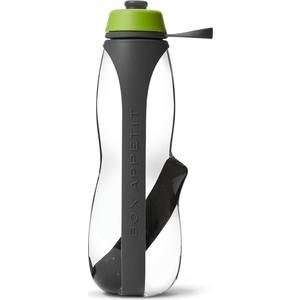 Эко-бутылка Black+Blum Eau good duo с фильтром серый - зеленая