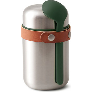 Термос Black+Blum Food flask оливковый