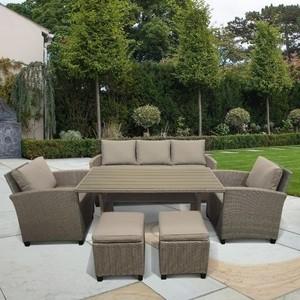 Комплект мебели с диваном Afina garden AFM-310B beige