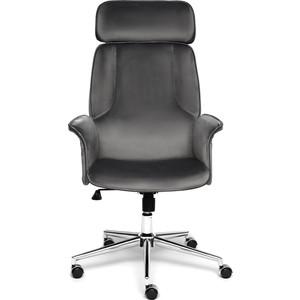 Кресло TetChair Charm велюр серый/серый T18/T18