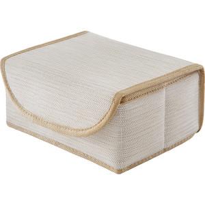 Коробка для хранения с крышкой Casy Home Bo-053 бежевая
