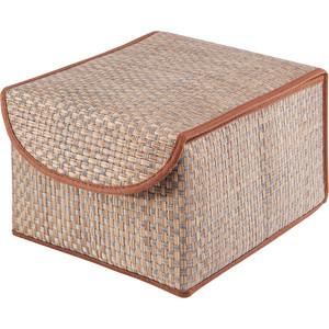 Коробка для хранения с крышкой Casy Home Bo-012 коричневая