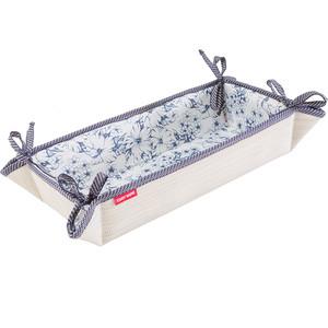 Хлебница Casy Home 32х13х7 см, бежевая корзина для хранения с ручками casy home ва 051синяя