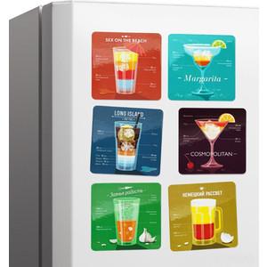 Набор магнитов Melompo Cocktail 6 шт.