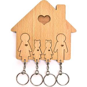 Ключница Mimi Семья с двумя дочками