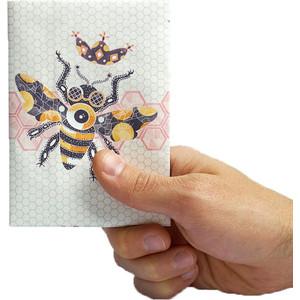 Обложка на паспорт New Wallet beefly, пчелка