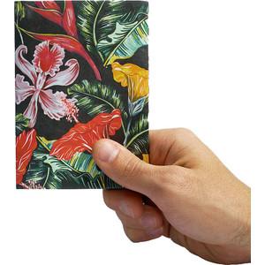 Обложка на паспорт New Wallet tropic, цветы