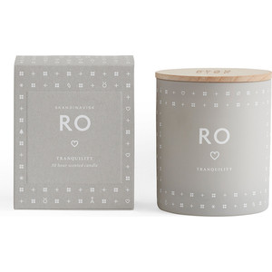 Свеча ароматическая SKANDINAVISK Ro с крышкой 190 г блесна вращающаяся wirek ro 5 13 красный белый 15 г