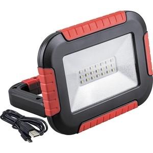 цена на Светодиодный аккумуляторный прожектор-фонарь Feron TL911 32725 с зарядным устройством