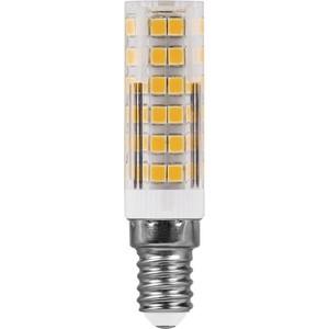 купить Лампа светодиодная Feron LB-433 25899 E14 7W 4000K Прямосторонняя Матовая дешево