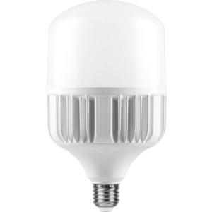 Лампа светодиодная Feron LB-65 25821 E27-E40 60W 4000K Цилиндр Матовая