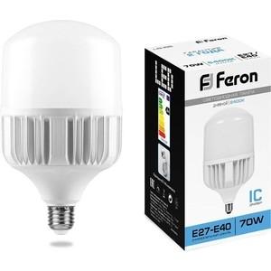 Лампа светодиодная Feron LB-65 25783 E27-E40 70W 6400K Цилиндр Матовая