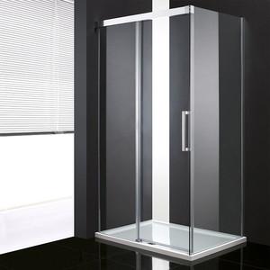 Душевой уголок Cezares Premier Soft 140x100 хром, прозрачный (PREMIER-SOFT-W-AH-1-140/100-C-Cr-IV)