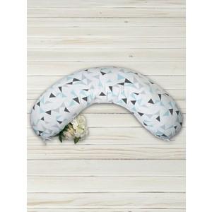 Подушка для беременных AmaroBaby Exclusive Soft Collection 170х25 (Треугольники)