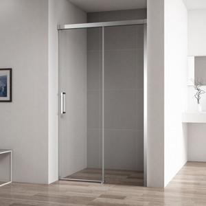 Душевая дверь Cezares Duet-Soft BF-1 130x195 прозрачная, хром (DUET SOFT-BF-1-130-C-Cr) фото