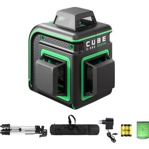 Построитель лазерных плоскостей ADA Cube 3-360 Green Professional Edition