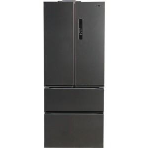лучшая цена Холодильник LERAN RFD 539 IX NF