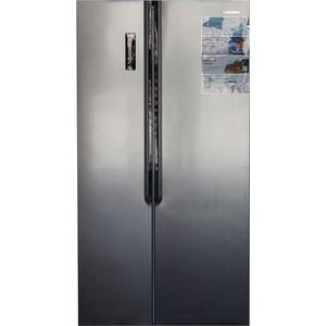 лучшая цена Холодильник LERAN SBS 300 IX NF