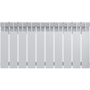 Радиатор Oasis биметаллический 500/70 10 секции (4670004376430)