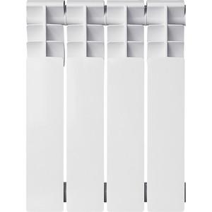 цены Радиатор биметаллический Oasis BM 350/80 4 секции (4670004376140)