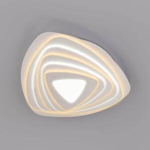 Потолочный светодиодный светильник Eurosvet Salient 90150/6 белый потолочный светодиодный светильник eurosvet 90041 6 золото