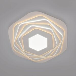 Потолочный светодиодный светильник Eurosvet Salient 90152/6 белый потолочный светодиодный светильник eurosvet 90041 6 золото