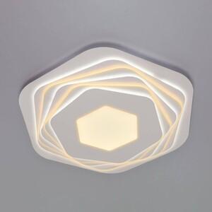 Потолочный светодиодный светильник Eurosvet Salient 90153/6 белый потолочный светодиодный светильник eurosvet 90041 6 золото