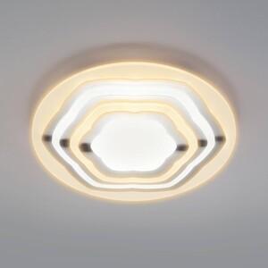 Потолочный светодиодный светильник Eurosvet Siluet 90117/4 хром