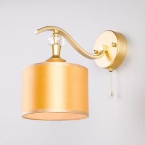 Бра Eurosvet Ofelia 60070/1 перламутровое золото эмаль акриловая перламутровое золото р 117 0 4 л