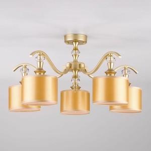Потолочная люстра Eurosvet Ofelia 60070/5 перламутровое золото