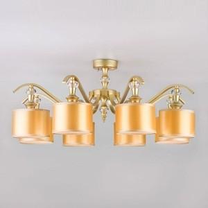 Потолочная люстра Eurosvet Ofelia 60070/8 перламутровое золото