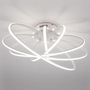 Потолочный светодиодный светильник Eurosvet Evia 90100/5 белый