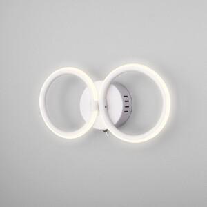 Настенный светодиодный светильник Eurosvet Comfy 90146/2 белый