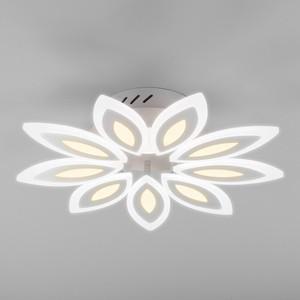 Фото - Потолочный светодиодный светильник Eurosvet Kabuki 90158/9 белый ecotools retractable kabuki