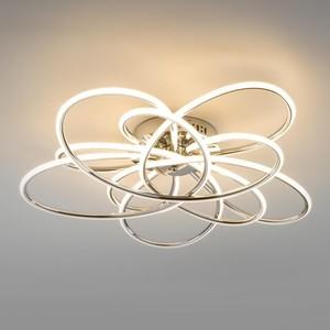 Потолочный светодиодный светильник Eurosvet Spring 90143/5 хром